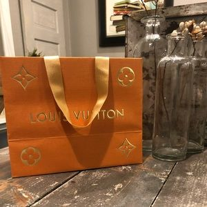 Beautiful LV gift bag